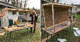 building bunny cabinate enclosure